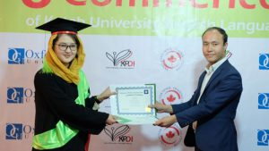 Sixth round of graduation ceremony for English Language students was conducted